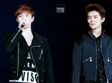 Yixing & Luhan in all black
