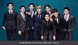 Sehun, D.O., Chanyeol, Baekhyun, Kai, Xiumin, Chen & Suho