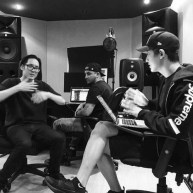 kevnishfm: album sessions @fareastmovement @real__pcy . this next album took an eternity to put together and excited to finally be able to release in October @transparentfeed 🙏🙏💯💯 (160809)