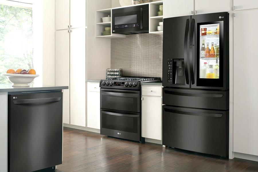 lg kitchen appliances small plans smart make life easier