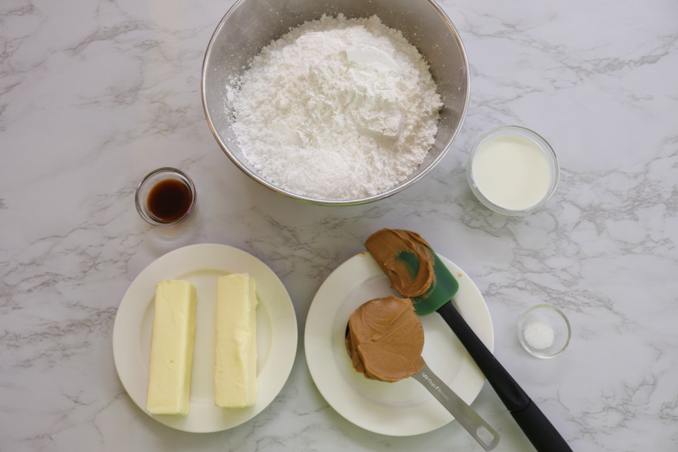 Peanut Butter Icing Ingredients