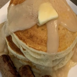 Pancakes and Gravy