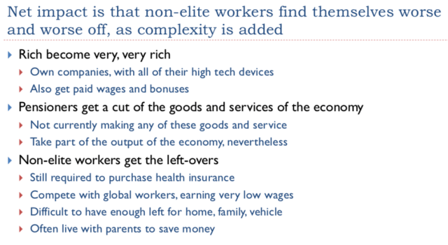 10. Non elite workers are worse off as complexity is added
