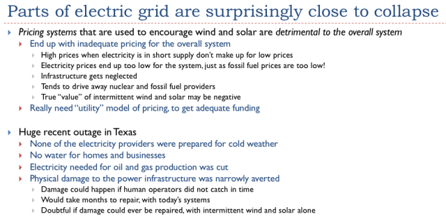 27. Parts of the electric grid are suprisingly close to collpase