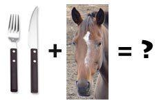 Eating horses?