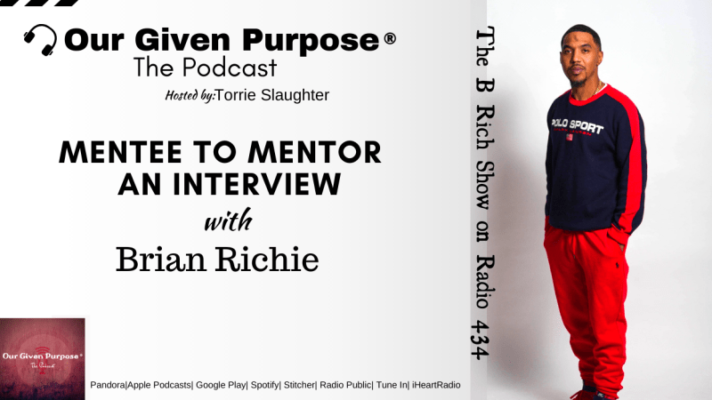 Mentee to Mentor, An Interview with Brian Richie