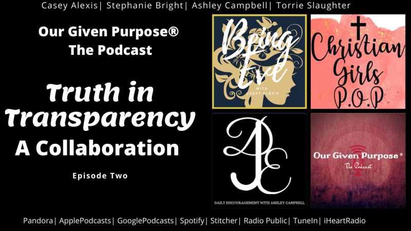 Truth in Transparency, A Collaboration! Episode 2