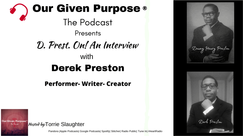 D. Prest. ON! an Interview with Derek Preston