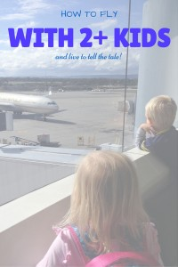 Flying with two (or more) kids