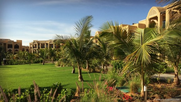 Doubletree Marjan Island gardens | OurGlobetrotters.Com