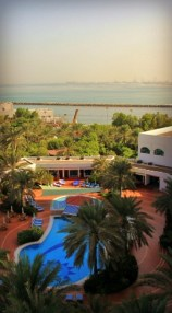 View from the Kempinksi Hotel Ajman