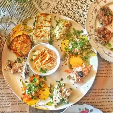 Traditional Turkish Mezze