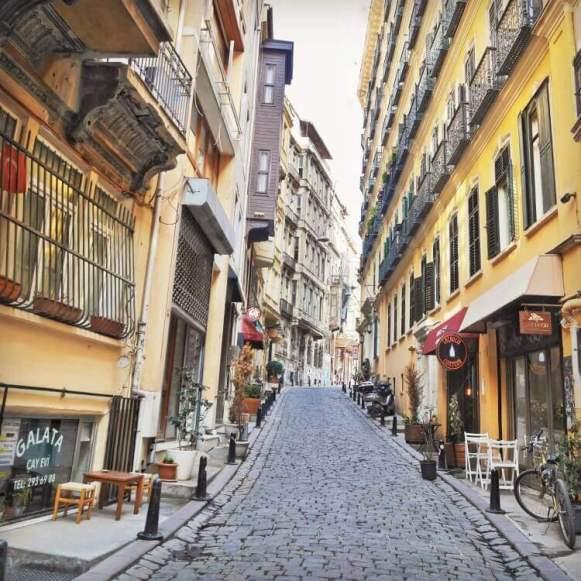 The serene streets of Galata