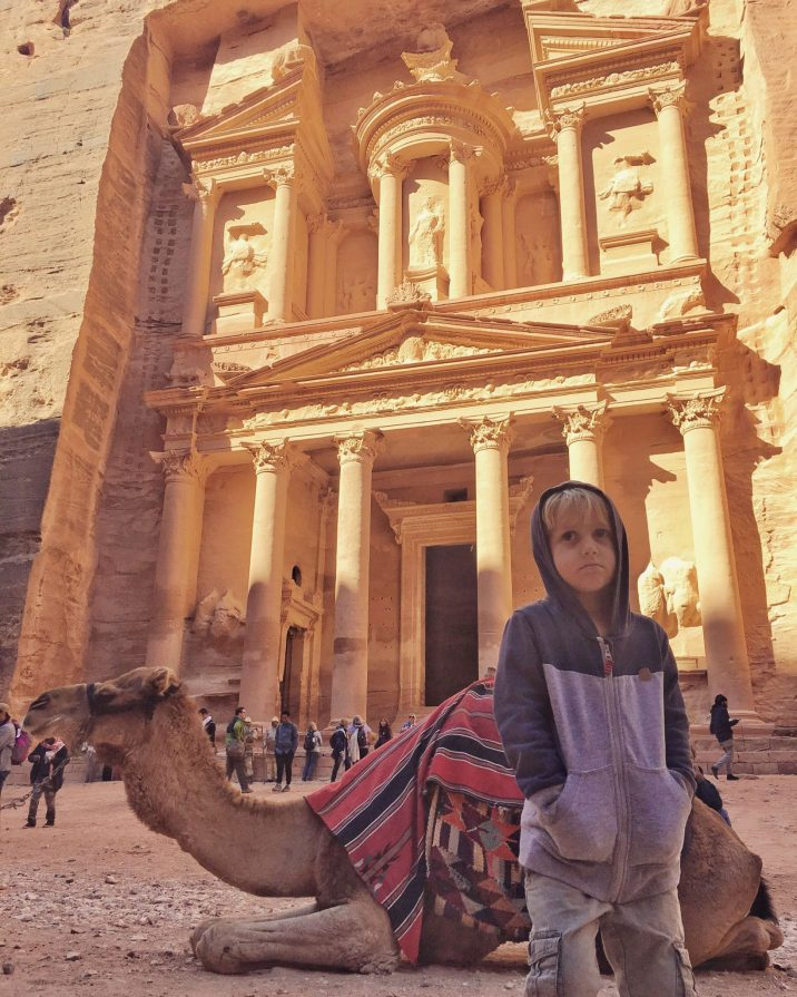 Petra with Kids - Jordan Road Trip