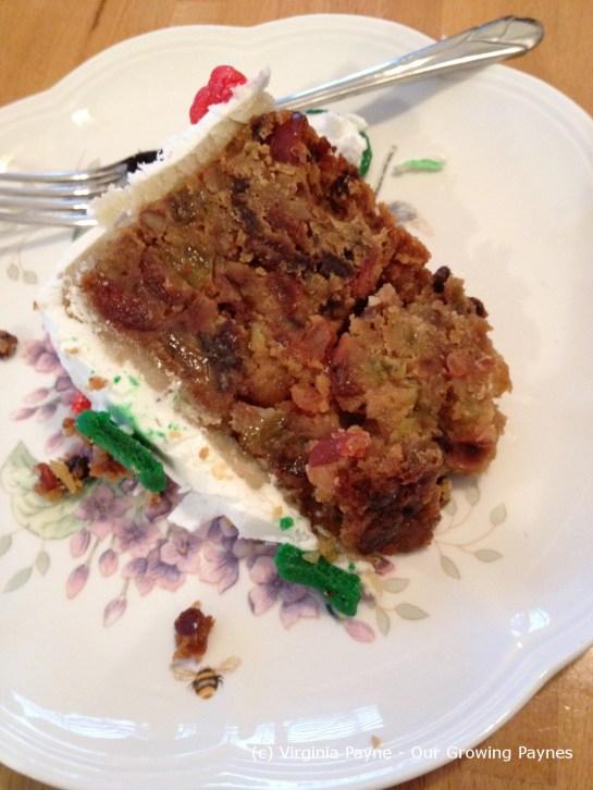 Christmas cake 28 2012