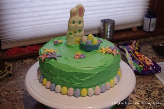 Easter Cake 4 2013