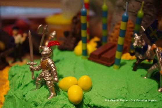 Castle cake 10 2013