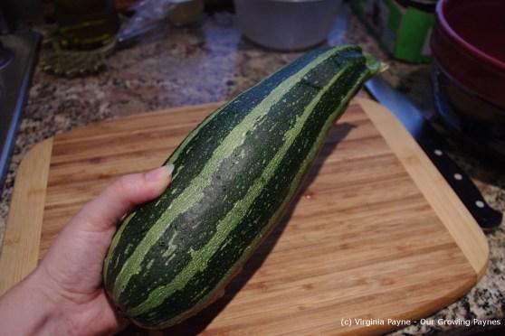 Zucchini flan 1 2013