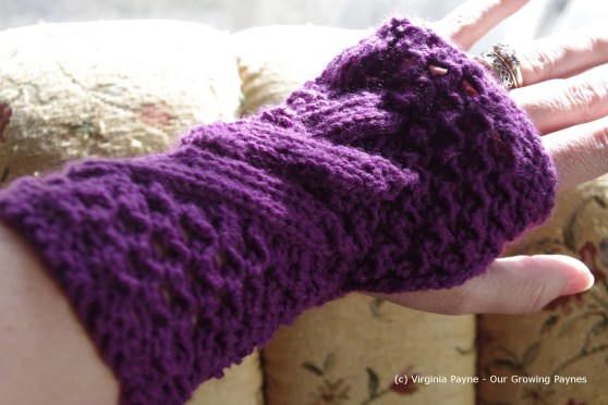 Knitted guantlet 3 2013