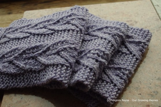 Leaf scarf 2 2013