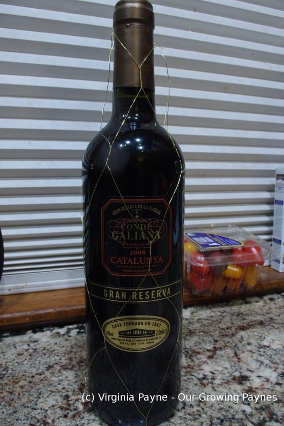 Wine chorizo 1 2015