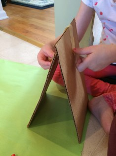 How to make a leprechaun trap with your kids before St. Patrick's Day.