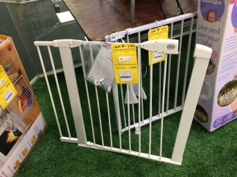 I just spent $60 on a gate at a big box store.