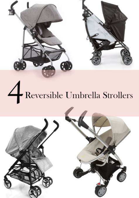 reversible umbrella stroller | ourguidetotheeveryday.com