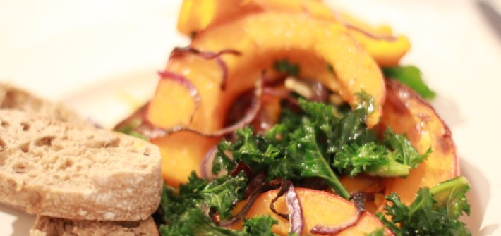 Pumpkin Kale Red Onion | ourguidetotheeveryday.com