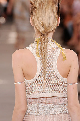 Missoni French braid