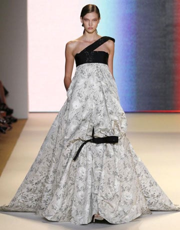 Carolina Herrera NY Fashion Week Hair Trend Spring 2011
