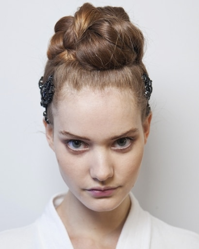 Marchesa NY Fashion Week Hair Trend Spring 2011