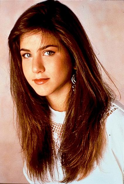 Jennifer Aniston Natural Hair 1990