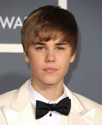Justin Bieber Hairstyle Grammy 2011