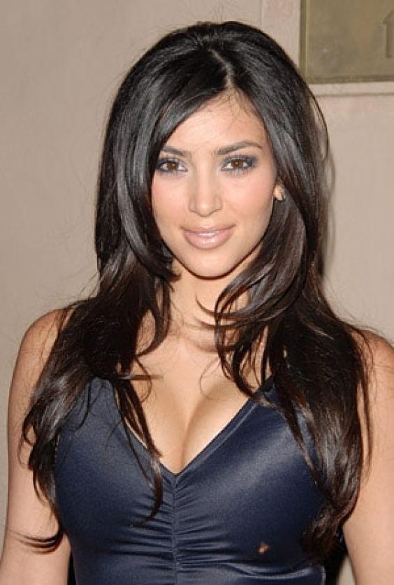 Kim Kardashian 2006 hairstyle