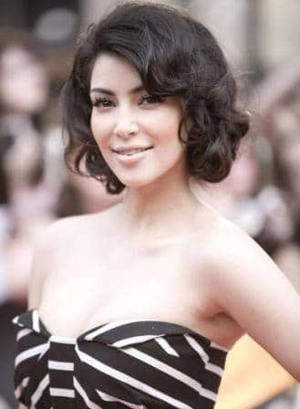 Kim Kardashian short hairstyle