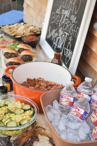 Texas Farm-to-Table Backyard Party - Our Handcrafted Life