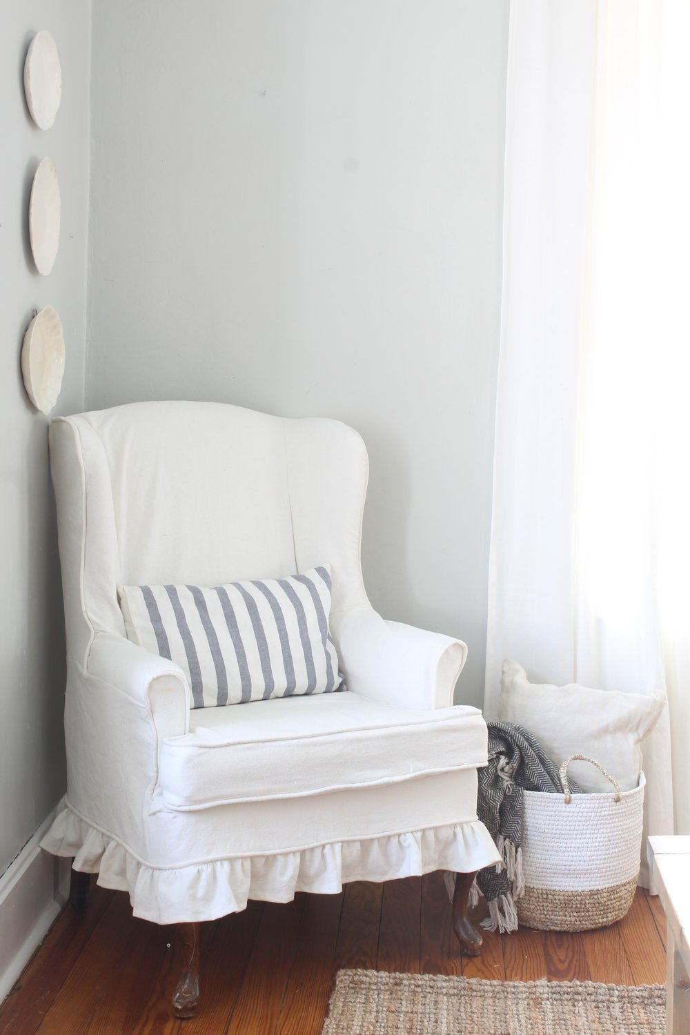 5 Ways to Use Bleached Drop Cloth  Our Handcrafted Life
