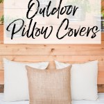 Diy Outdoor Pillow Covers Envelope Pillow Diy Our Handcrafted Life