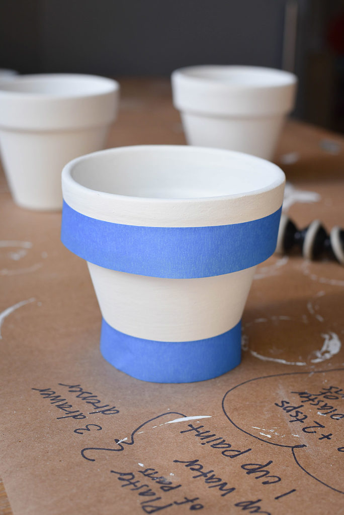 Farmhouse Style Flower Pots Inspired by Rae Dunn  Our Handcrafted Life