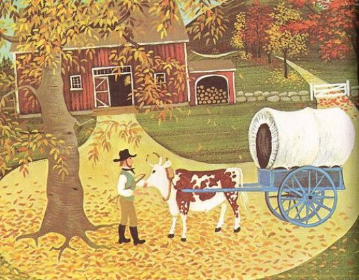 This image has an empty alt attribute; its file name is oxcart-man.jpg