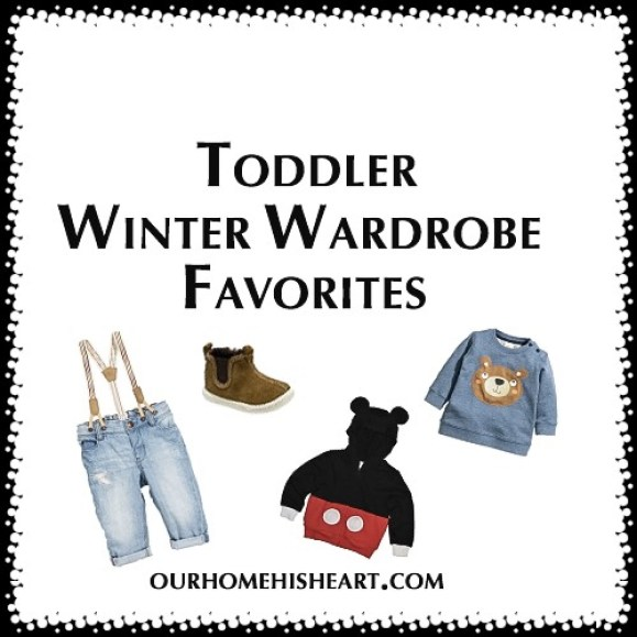 Toddler Winter Wardrobe Favorites