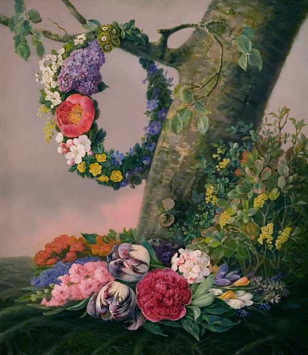 Løvmand - Blomster