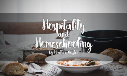 Hospitality and Homeschooling