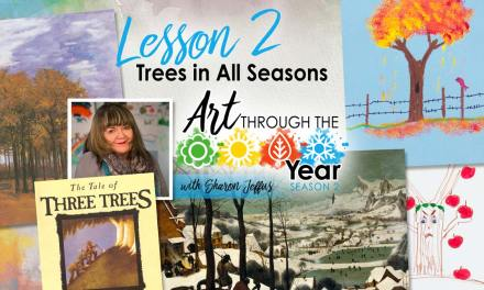 Trees in All Seasons (Art Through the Year Season 2 Episode 2)