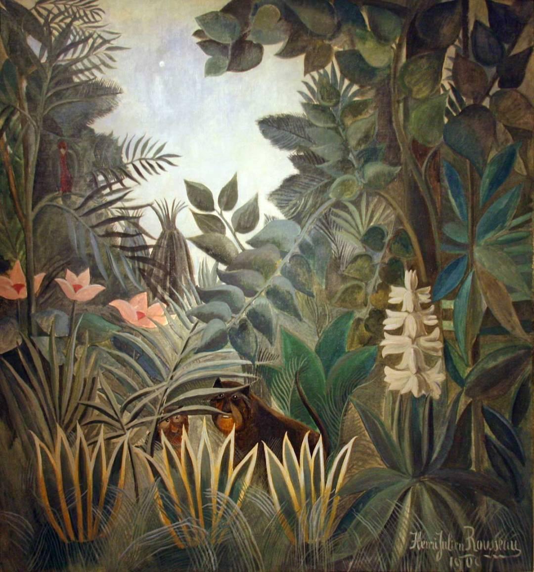 Rousseau - The Equatorial Jungle
