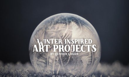 Winter inspired art projects