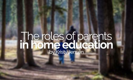 The roles of parents in home education