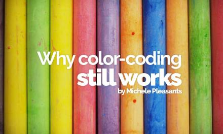 Why color coding still works