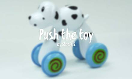 Push the toy